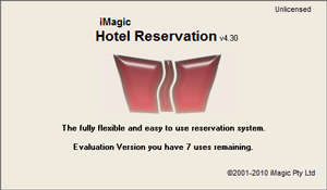 iMagic Hotel Reservation - Start Splash